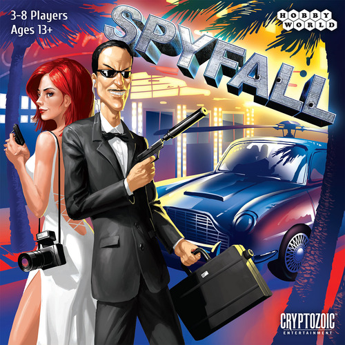 SpyFall cover