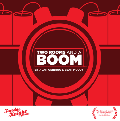 Two Rooms and a Boom cover